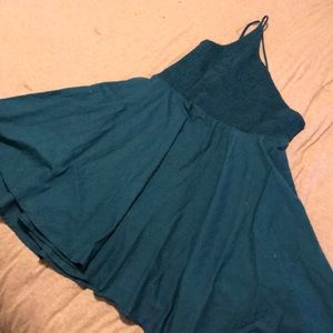 Urban Outfitters Dresses - 🦋 Asymetrical teal dress 🦋 Urban Outfitters 🦋